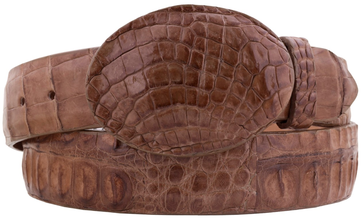 Groovy Details About Mens Real Alligator Skin Belt Cognac Leather Western Cowboy Cinto Rancho Ocoug Best Dining Table And Chair Ideas Images Ocougorg