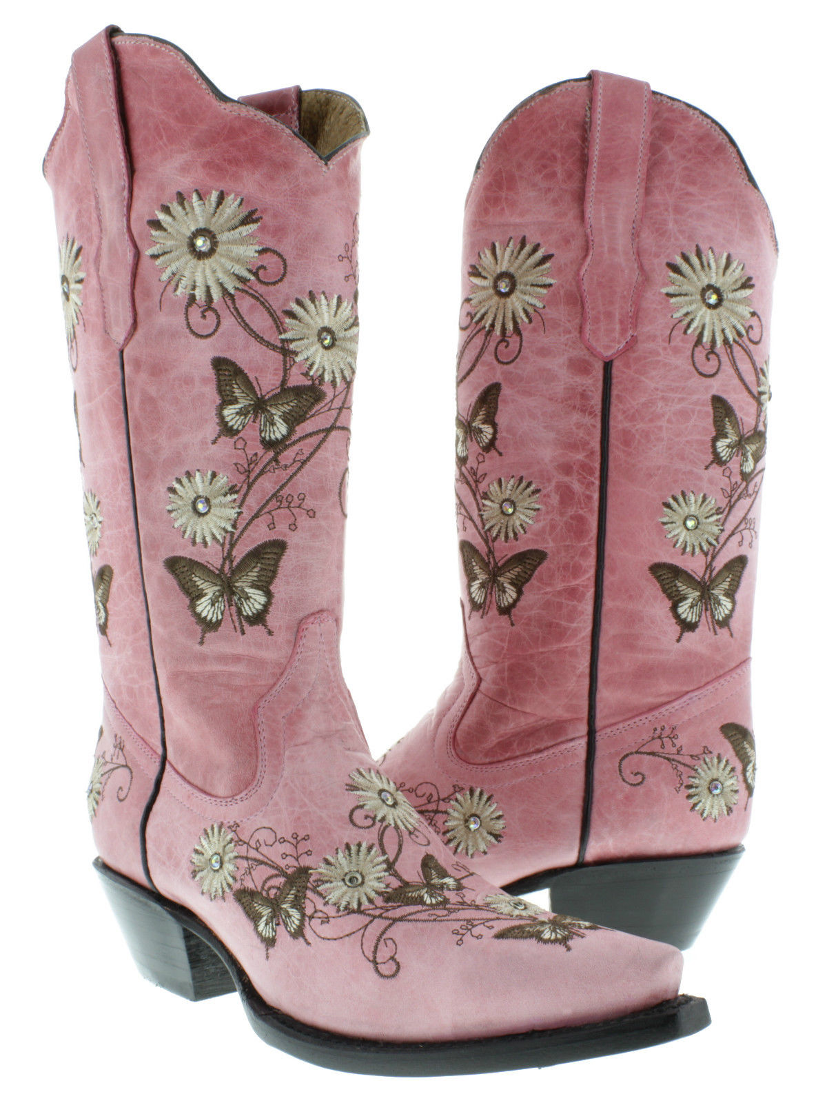 Butterfly Cowgirl Boots