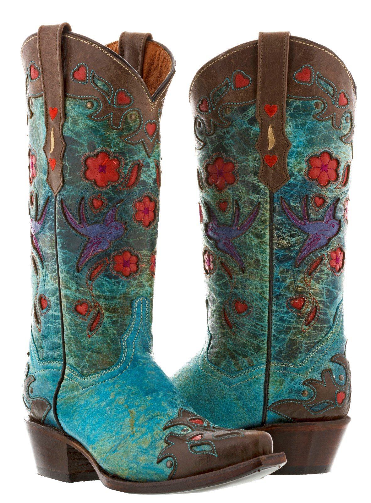 Blue Boots for Women | eBay