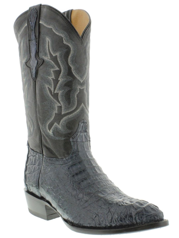 Crocodile skin boots - photo#31