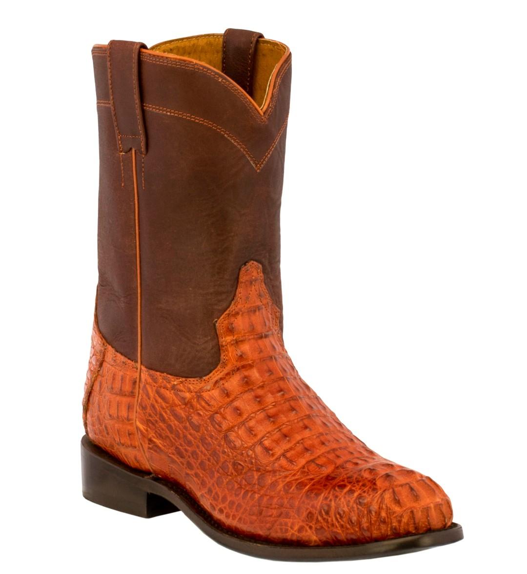 Crocodile skin boots - photo#46