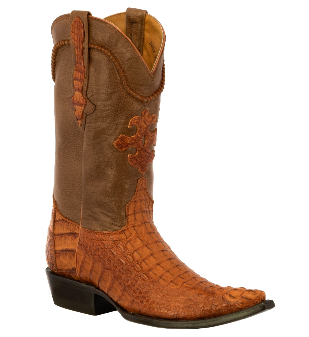 33f50839700 Details about Mens Rust Brown Genuine Crocodile Alligator Skin Leather  Cowboy Boots Western