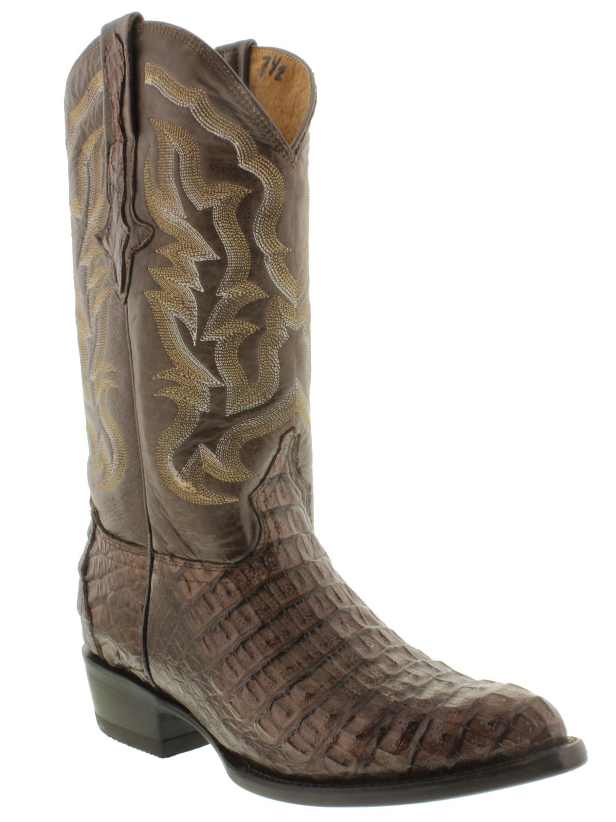 Crocodile skin boots - photo#29