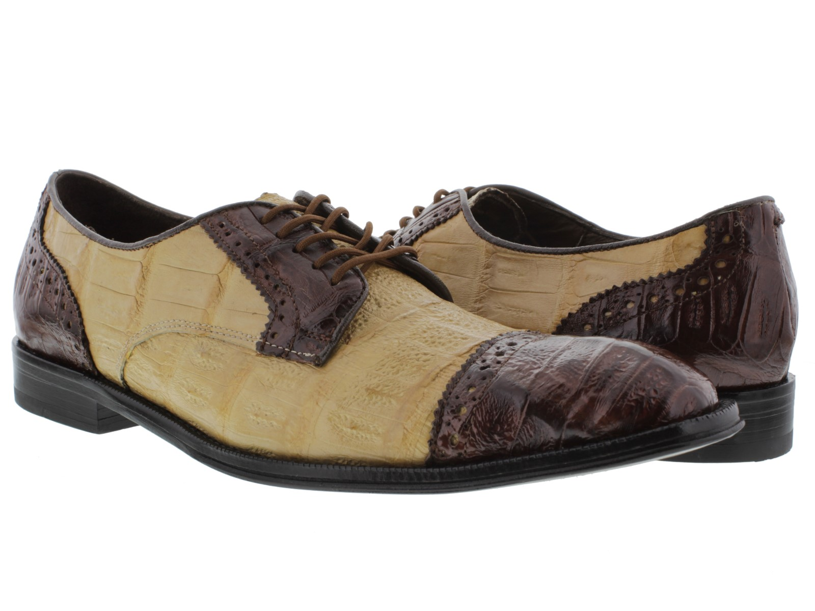 Brown Gator Shoes
